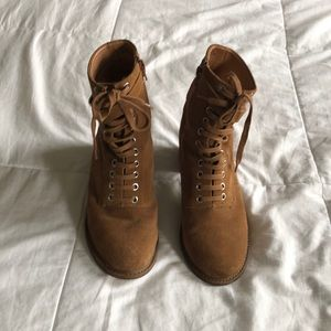 Urban Outfitters Lace Up Boots